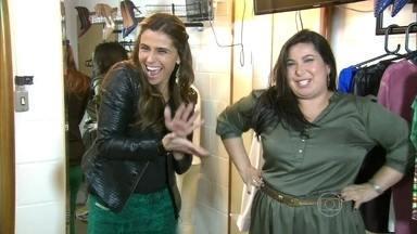 Mariana Xavier estreia no Vídeo Show - Atriz e nova apresentadora conversa com Antonelli e mostra o visual de Clara, de Em Família