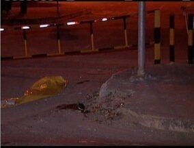 Homem não aciona freio e morre atropelado pelo próprio caminhão - Corpo ainda está no IML de Ipatinga.