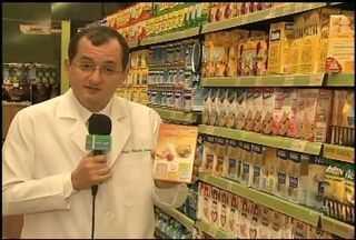 Professor Cláudio Lima mostra quais os alimentos que possuem menos calorias - Confira as dicas do quadro Mais Saúde.