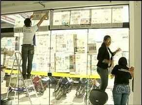Servidores do 'É pra já' de Araguaína protestam por melhoria em estrutura de prédio - Servidores do 'É pra já' de Araguaína protestam por melhoria em estrutura de prédio