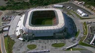 Arena Pernambuco completa um ano - Palco da Copa foi palco de emoções distintas