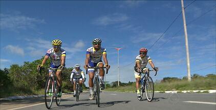 Paraibano de 17 anos tenta o sucesso no ciclismo - Jefferson Silva treina forte para participar do Campeonato Brasileiro de Ciclismo em Maringá, no Paraná.