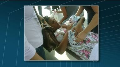 Jovem de 22 anos dá à luz um menino em Estação da Supervia - Ítala de Oliveira seguia para a Central do Brasil, quando entrou em trabalho de parto. Ela desembarcou na estação Nova Iguaçu e foi socorrida por um segurança da concessionária.