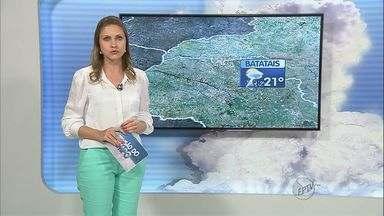 Veja a previsão do tempo na região de Ribeirão Preto - Frente fria chega ao sudeste.