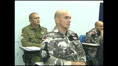 Policias civil, militar e federal recebem treinamento do Programa Enafron - Primeira vez em Santarém, curso é voltado para policiais que atuam nas fronteiras da região.
