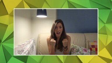 Veja os vídeos de Fernanda Rodrigues e Fernando Negrão para 'Taça na raça, você na Globo' - Fernanda Rodrigues de Salvador listou as supertições de toda família.