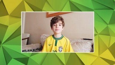 Assista os três últimos vídeos dos finalistas do 'Taça na raça, você na Globo' - Marcos Belmonte fez um apelo fofinho, enquanto a Marcelina mandou um recado para o maridão,