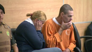 Casal é condenado pela morte de dois empresários em Cascavel - A sentença para Andrea Montanário foi de 46 anos de prisão e para Hermes Montanário foi de 36 anos.