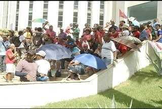 Manifestação em Montes Claros provoca adiamento de audiências - Presidente da Associação dos Magistrados de Minas Gerais, Hebert Carneiro, esteve na cidade e afirmou repudiar as ações dos manifestantes.