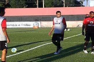 Zagueiro Lino retorna ao Atlético-GO contra o Icasa - Recuperado de lesão, atleta reforça o Dragão e entra na vaga de Adriano, suspenso.