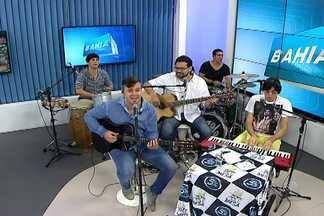 Banda 5% é a convidada musial do programa nesta sexta-feira (30) - Grupo se apresenta no sábado (31), Bahia Marina, em Salvador.