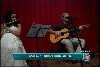 Termina hoje a mostra de música Dona Amélia, no Sesc Petrolina - O evento trouxe desde a última quarta diversos artistas, com apresentações gratuitas