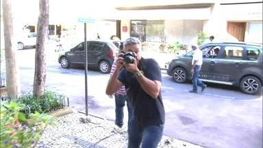 Otaviano Costa vira fotógrafo das celebridades no Projac - Apresentador clica muito pelas produções da TV Globo