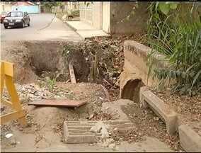 Blitz do MG: Estragos das chuvas de 2013 ainda incomodam população de Fabriciano - Moradores reclamam da demora em consertar ponte.