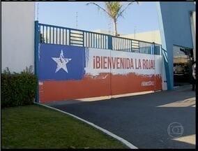Esporte: Toca da Raposa acerta últimos detalhes para receber a seleção do Chile - Local será utilizado pela seleção chilena para treinamentos.