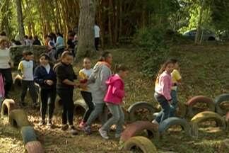 Moradores do distrito de Taiçupeba em Mogi aprendem sobre fauna e flora da região - Evento foi em homenagem ao Dia Mundial do Meio Ambiente.