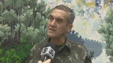 Comandante do Exército fala sobre ações para Copa, no AM - General classificou Manaus como preparada para Copa; Exército vai atuar na capital durante o Mundial.