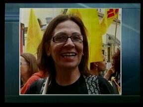 Diretora do Cpers de Uruguaiana, RS morre de câncer - Assista ao vídeo.
