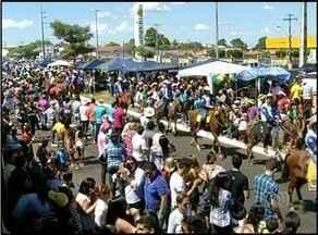 Cavalgada da Expoara 2014 reúne mais de 5 mil cavaleiros e amazonas - Cavalgada da Expoara 2014 reúne mais de 5 mil cavaleiros e amazonas