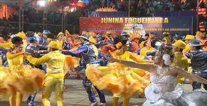 Quadrilha Fogueirinha vence festival em João Pessoa e vai para etapa estadual - As Quadrilha Lageiro Seco ficou em segundo lugar e a Sanfona Branca em terceiro.