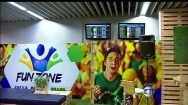Espaço exclusivo para turistas é inaugurado no Aeroporto Internacional - Um espaço exclusivo para turistas foi inaugurado no Aeroporto Internacional. O local tem internet gratuita e televisões que indicam os horários dos voos.