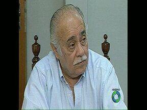 Corpo de Jorge Scaff está sendo velado na Câmara de Vereadores de Londrina - O ex-prefeito e ex-vereador morreu por volta de meio-dia desta segunda-feira. Ele estava internado no Hospital do Coração havia duas semanas.