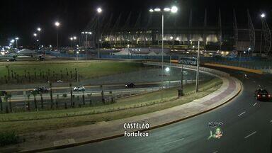 Novos acessos à Arena Castelão foram liberados - Confira como ficou o acesso ao estádio.
