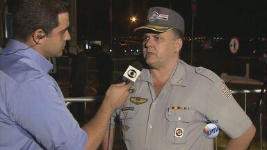 Mais de 300 policiais militares vão fazer a segurança da seleção francesa em Ribeirão Pret - O contingente conta ainda com homens do exército brasileiro e agentes da Polícia Federal