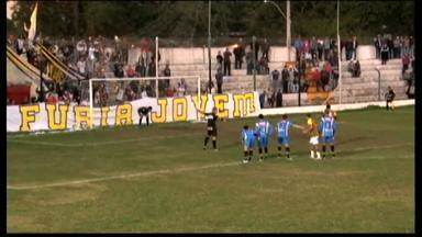 Rio Grande perde por 3 a 1 para o São Gabriel - São Gabriel vai decidir a final do returno da Terceirona.