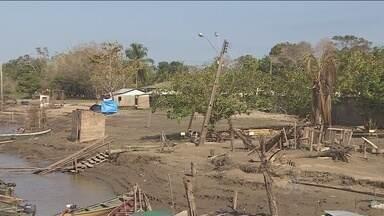 Secretário Jorge Elarrat fala ao programa sobre situação de São Carlos - Os moradores decidiram voltar para o distrito.
