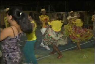 Quadrilhas juninas fazem os útimos ajustes para o Arraiá do Ceará - Grupo vencedor representará o Ceará no São João do Nordeste.