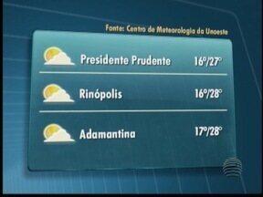 Terça-feira tem poucas possibilidades de chuva - Confira a previsão para outras cidades.