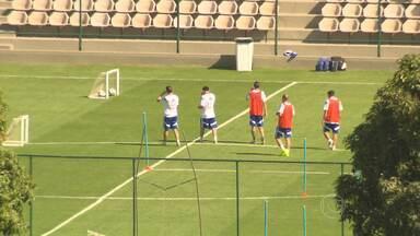 Argentinos treinam na Cidade do Galo, em Vespasiano - Em BH, torcida faz fila para assistir treino aberto no Horto