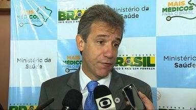"""Ministro da Saúde participa de seminário sobre """"Mais Médicos"""" em Aracaju - Arthur Chioro participou de seminário para debater a implantação e os resultados do programa Mais Médicos no Estado"""