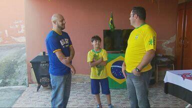 Torcedores do Sul de Minas estão animados para a Copa do Mundo - Torcedores do Sul de Minas estão animados para a Copa do Mundo