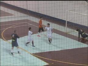 Carazinho,RS, e Soledade, RS, empatam pelo returno da Taça RBS de Futsal - O jogo da primeira fase da taça foi ontem, 09, em Carazinho, RS