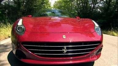 Ferrari apresenta modelo turbo - Califórnia T ganha 70 cavalos de potência, tem redução no consumo de combustível e de poluentes e um aumento da autonomia.