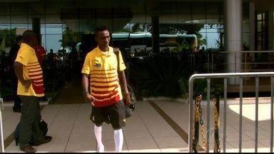 Ganeses saíram de Maceió para Potiguar - Seleção de Gana estreia nesta segunda-feira (16), na Copa do Mundo enfrentando os Estados Unidos, na Arena das Dunas, em Natal.