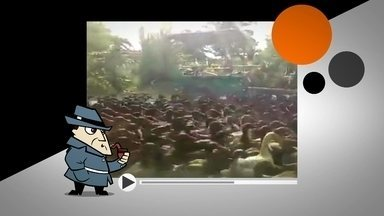 Detetive Virtual analisa vídeo de marrecos - Um vídeo mostra um bando de marrecos numa estrada, na Tailândia. O professor de zoologia Sávio Freire Bruno explica que essa raça é domesticada e segue um líder humano.