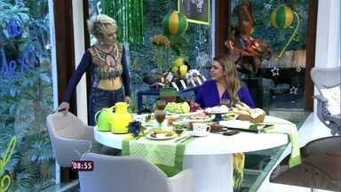 Ana Maria recebe Preta Gil - Apresentadora recebe cantora para tomar café da manhã e falar sobre futebol