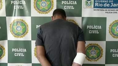 Suspeito de estuprar sobrinho de 9 anos é preso em Volta Redonda, RJ - Crime aconteceu na casa do homem; exame de corpo de delito confirmou abuso.