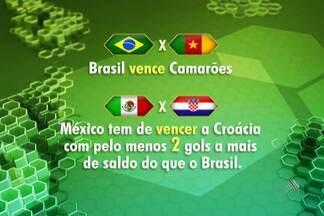 Seleção Brasileira ainda pode jogar em Salvador - Jogo depende de combinação de números; veja.
