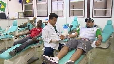 Hemoam alerta para estoque baixo de sangue em Manaus durante Copa - Procura visa abastecer estoque para dar suporte a turistas.