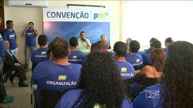 Convenção Estadual do Partido Social Democrático também está sendo realizada na capital - Convenção Estadual do Partido Social Democrático também está sendo realizada na capital.