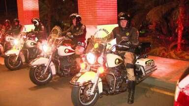 Polícia Militar Rodoviária faz escolta da delegação da Coreia do Sul em Foz do Iguaçu - Com todo esse aparato, não foi registrado nenhum incidente com os visitantes.