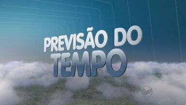 Confira a previsão do tempo para esta terça-feira (24) na região de Ribeirão Preto - Ainda não há previsão de chuva, mas as temperaturas devem cair na região.