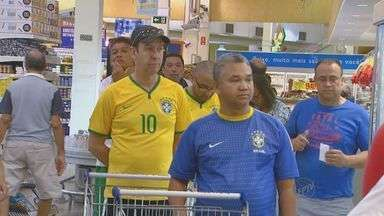 Jogo do Brasil movimenta supermercados de Campinas - A partida está marcada para este sábado (28), a partir das 13h.