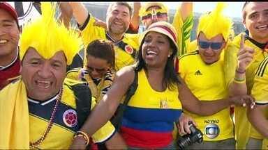 Maracanã tem esquema especial para jogo entre Uruguai e Colômbia - O Maracanã tem esquema especial de segurança para este sábado (28), quando o estádio recebe o jogo entre Colômbia e Uruguai. Confira detalhes sobre as ruas que estão fechadas para a chegada da torcida.