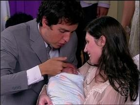 Caras & Bocas - capítulo de terça-feira, dia 01/07/2014, na íntegra - Nasce o filho de Anselmo e Anita