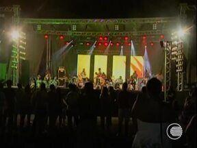 Abertura do Encontro Nacional de Folguedos contou com apresentações artísticas e culturais - Abertura do Encontro Nacional de Folguedos contou com apresentações artísticas e culturais